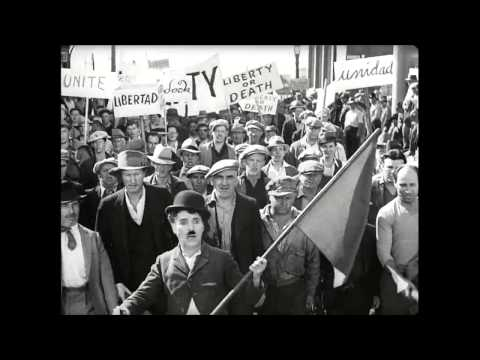 Charlie Chaplin - Modern Times - Flag