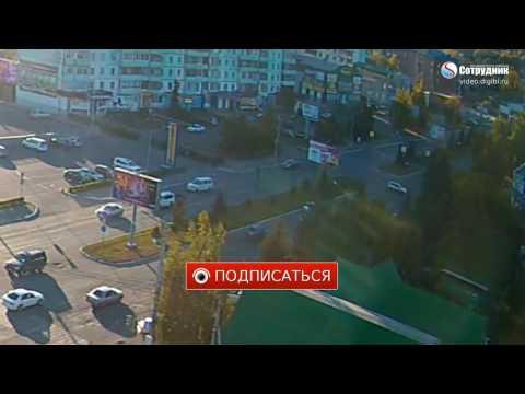 ЧП, россия, авто, OMG-WTF - Что не надо делать, когда пропустил свой поворот: Идиотское ДТП в Бийске