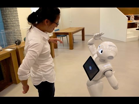 В Японии робот пошел в обычную школу - необычное, знания, гаджеты