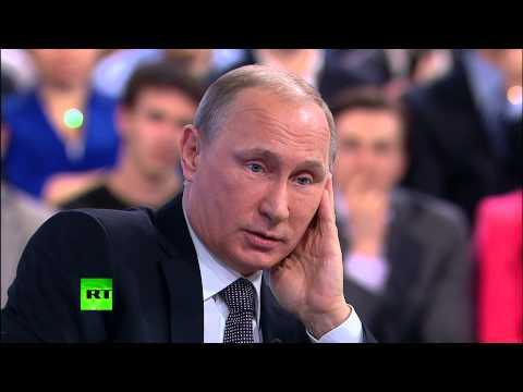 Путин обсудил надои и статистику с фермером Джоном