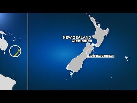 Новая Зеландия: после землетрясения объявлена опасность цунами
