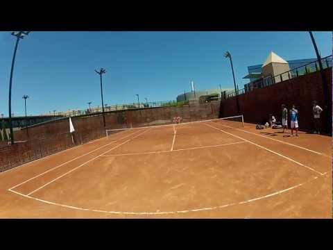 Fernando Verdasco training with GoPro