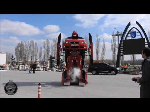 необычное, кино, гаджеты, авто - Как выглядит и действует настоящий трансформер, созданный умельцами из автомобиля BMW