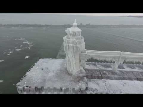 Icy Lighthouse December 2016 - St Joseph, MI