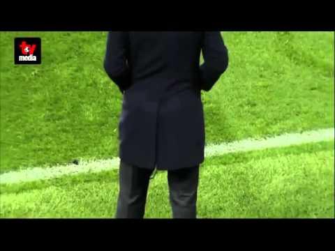 Зидан снова порвал брюки в матче Лиги чемпионов