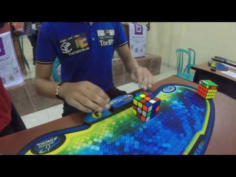 необычное, народ - Как выглядит самая быстрая сборка кубика Рубика
