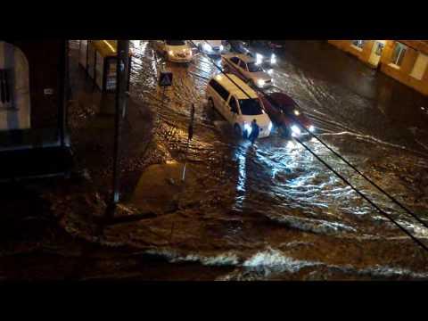Ливень за ночь затопил Ростов-на-Дону - ЧП, россия