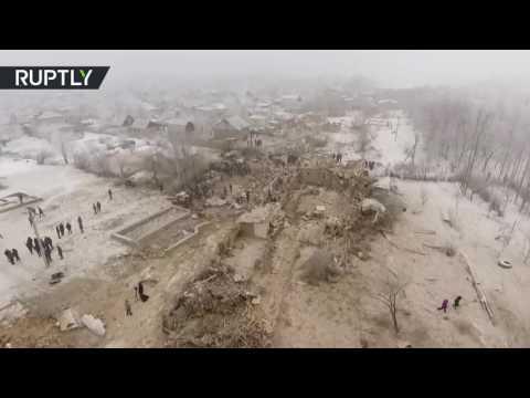 10 фактов о падении Боинга на поселок под Бишкеком - ЧП, картинки