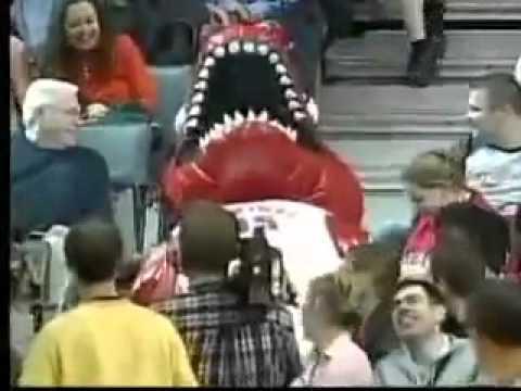 Raptor Mascot Double Fail