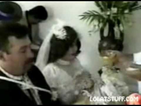 False Teeth Wedding Fail