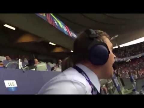 Истерику исландского комментатора на матче с Австрией оценил даже Черданцев - телевидение, спорт, душевное