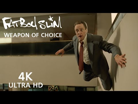Fatboy Slim ft. Bootsy Collins - Weapon Of Choice [Official 4k Video]