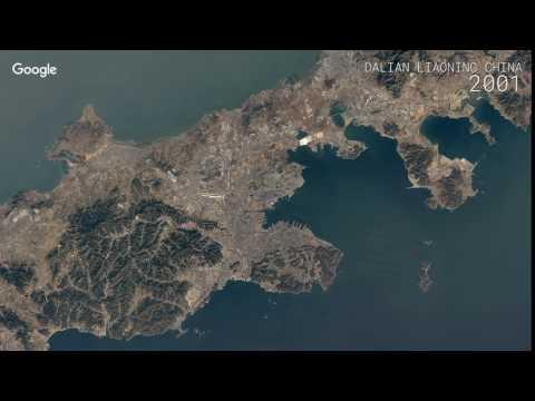 Эти 10 таймлапс-видео наглядно показывают, как менялась Земля последние 30 лет - карты, знания