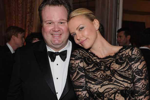 Eric Stonestreet and Charlize Theron