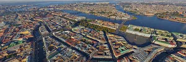 Побывайте в Петербурге не отходя от компьютера: Северная столица России в потрясающей 3D панораме - россия, картинки