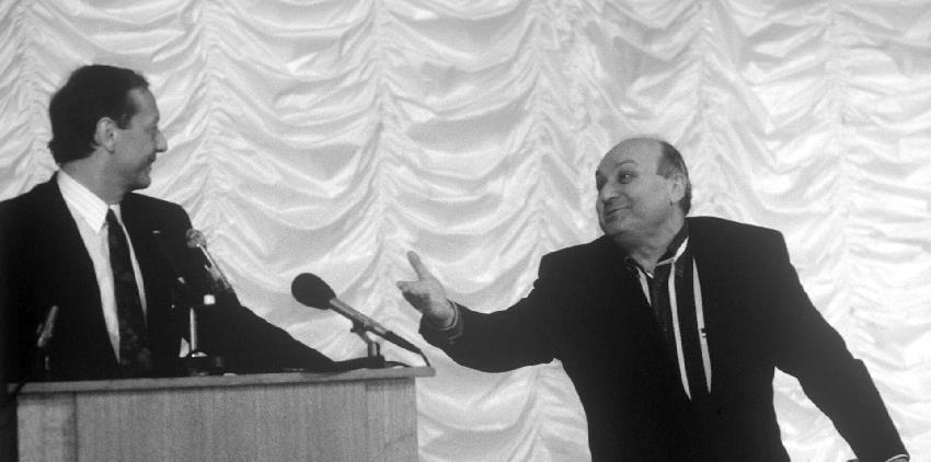 Жванецкий и Задорнов доказали, что телевидение - это не для умных