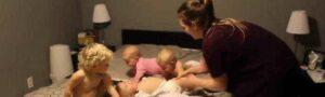 Мама «банды малышей» стала звездой соцсетей