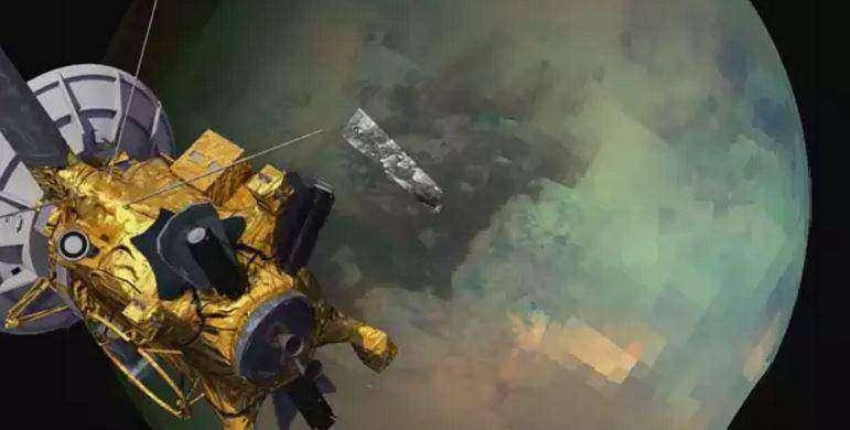 Ледяные дюны Титана: видео космического аппарата «Кассини» - красота, космос, знания