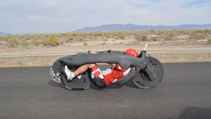 Самый быстрый велосипед в мире разогнался до рекордных 145 км/ч