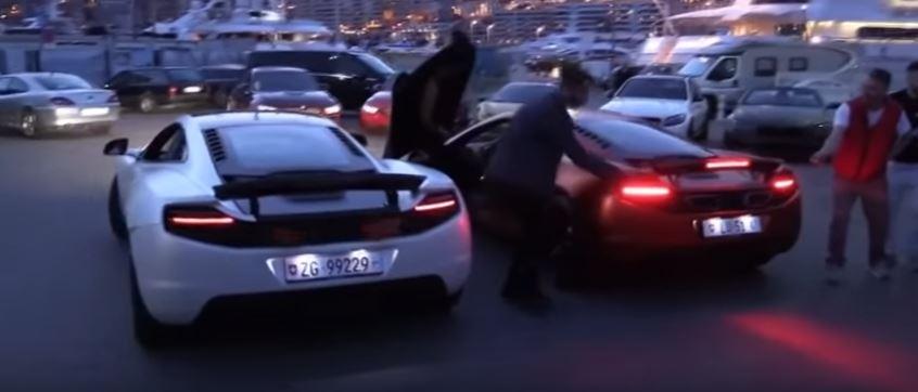 Как прикуривают сигарету владельцы суперкаров McLaren - лайфхак, авто